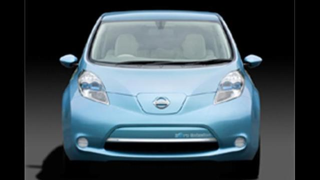 Nissan's all-electric LEAF will make US debut next month in Los Angeles
