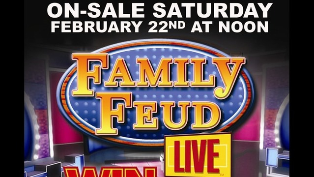 Family Feud Live Coming to the Forum Theatre