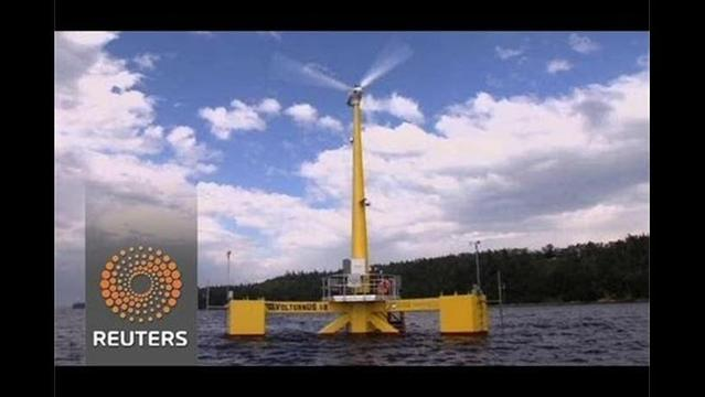 New idea for wind turbines at sea – but will it float?
