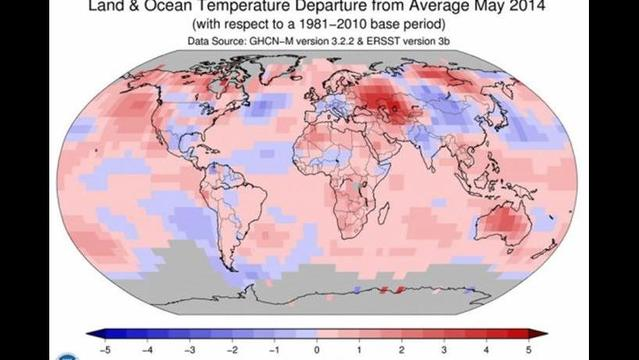May 2014 was warmest ever