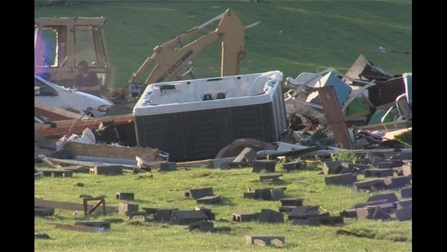Photos: Aftermath of deadly Madison County storm