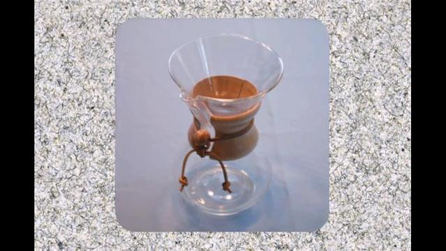 How to make better, greener coffee with a Chemex