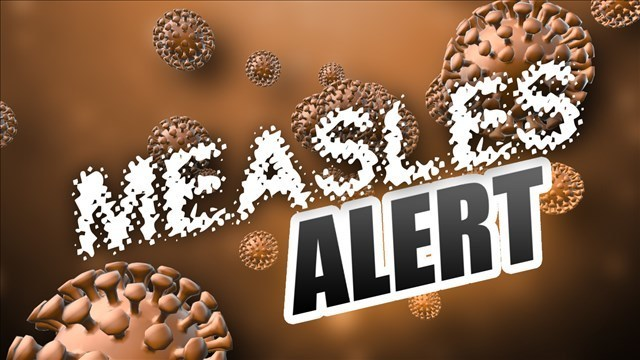 ALERT: PA health officials warn of possible measles exposure at I-81 Welcome Center