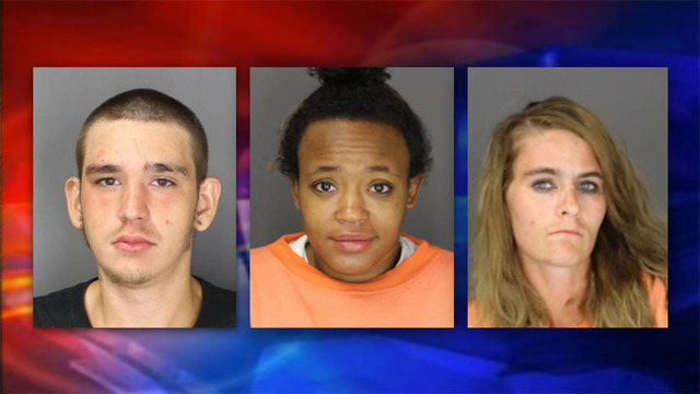 Deputies: 3 charged in Town of Norwich burglary