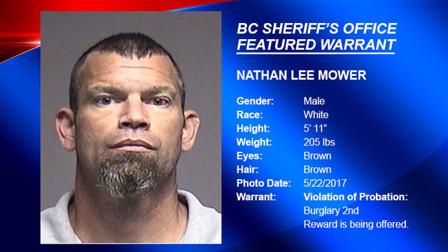 FEATURED WARRANT: Deputies looking for man who violated probation for burglary 2nd