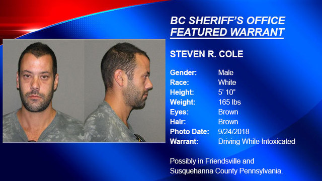 FEATURED WARRANT: Deputies looking for man wanted on DWI charges