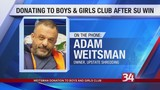 Adam Weitsman makes donation to Boys and Girls Clubs