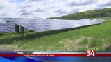 A new solar farm in Ithaca finds an eco-friendly way to mow its lawn